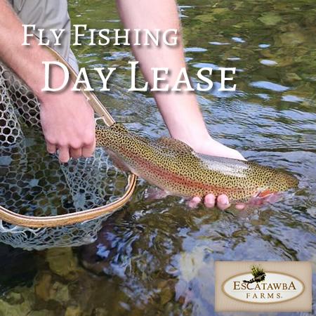 Escatawaba Farms Fly Fishing Day Lease